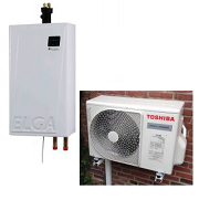 Techneco Elga 304  excl thermostaat
